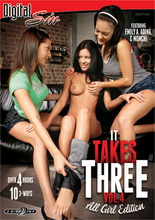 It Takes Three Vol. 4: All Girl Edition