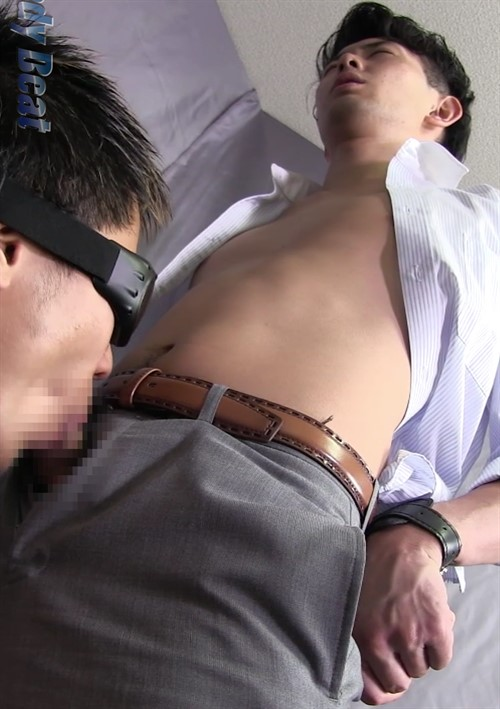 Young Salaryman Shoots a Load on Another Guy's Face After Work! Boxcover
