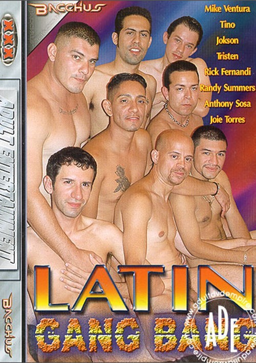 Latin Gang Bang Boxcover