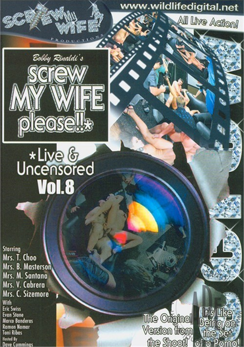 Screw My Wife, Please: Live & Uncensored Vol. 8 Boxcover