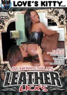 Black Lesbian Leather Licks Porn Movie