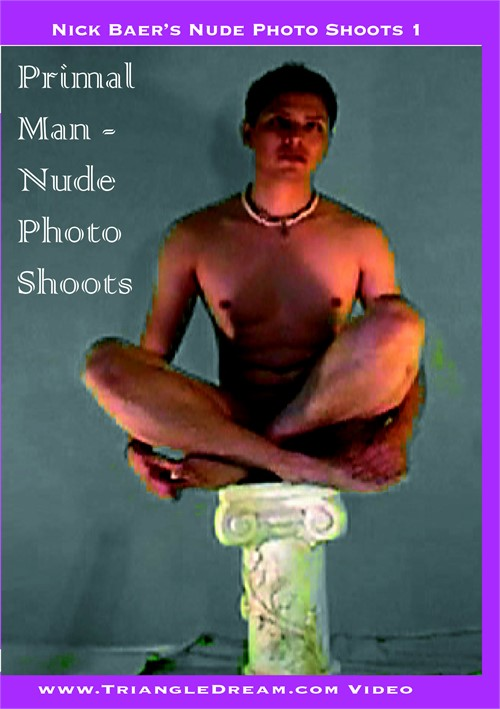 Primal Man: Nude Photo Shoots 1 Boxcover