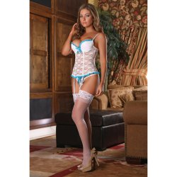 Exposed - Luv Lace - Bustier & G-String - L/X