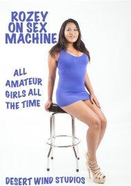 Rozey on Sex Machine Porn Video