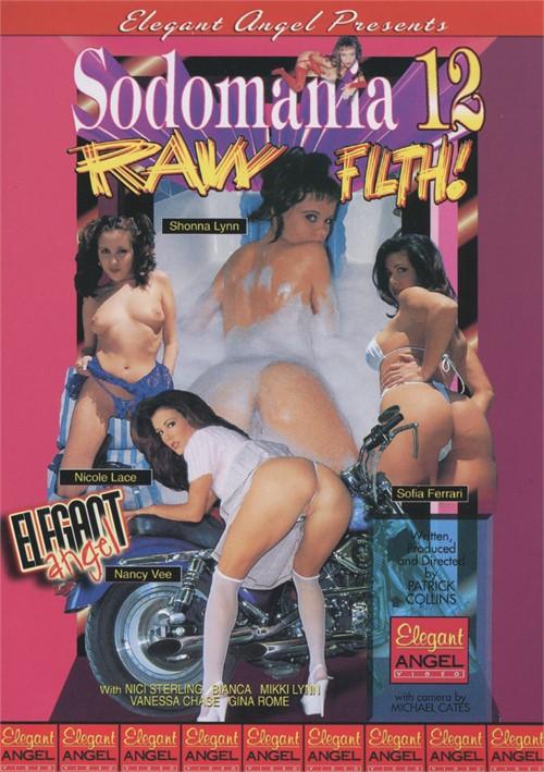 Sodomania 12: Raw Filth Boxcover
