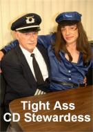 Tight Ass CD Stewardess Porn Video