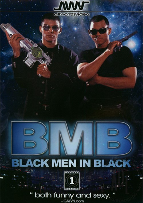 Black Men In Black Boxcover