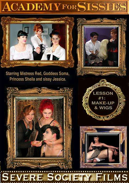 Academy For Sissies Lesson 1: Make-Up & Wigs