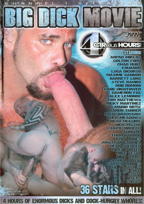 Big Dick Movie Boxcover