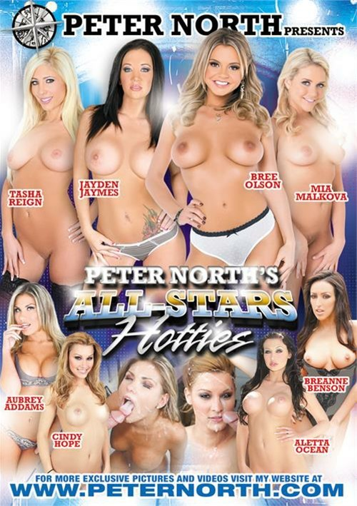 Dvd porno All-Star Hotties di Peter Norths 2015 Popporn-9884