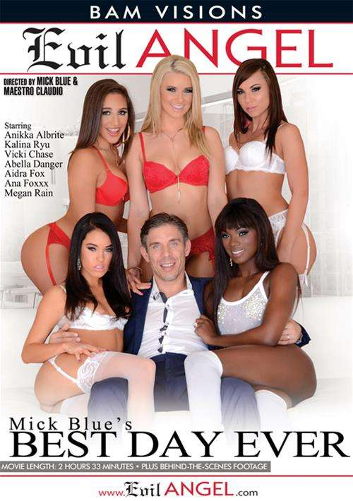 Mick Blue's Best Day Ever Boxcover