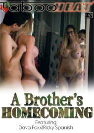 Dava Foxx in A Brother's Homecoming Porn Video