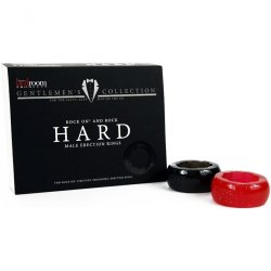 HARD: Super Stretchy C-rings - 2 Per Pack