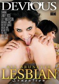 All Brunette Lesbian Sensation