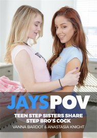 Teen Step Sisters Vanna And Anastasia Share Step Bro's Cock image