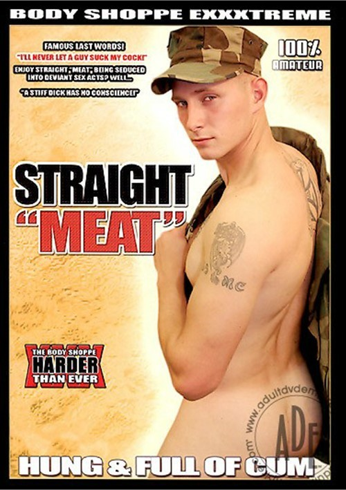 "Straight ""Meat"": Hung & Full of Cum"