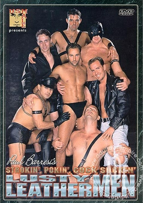 Lusty Leather Men Boxcover