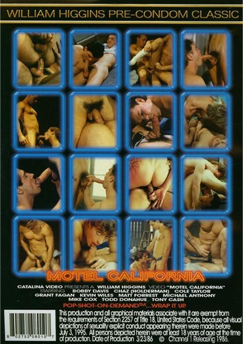 Motel California Cover Back