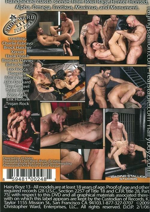 Hairy Boyz 13 Cover Back