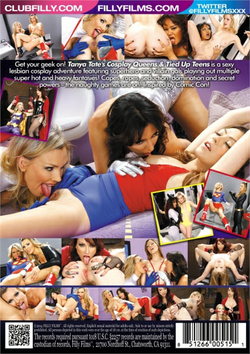 Amanda tate submits to tanya tate for horny cosplay