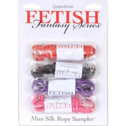 Fetish Fantasy Mini Silk Rope Sampler  Sex Toy