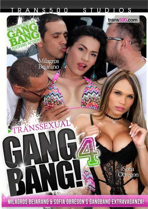 Transsexual Gang Bang! 4
