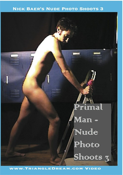 Primal Man: Nude Photo Shoots 3 Boxcover