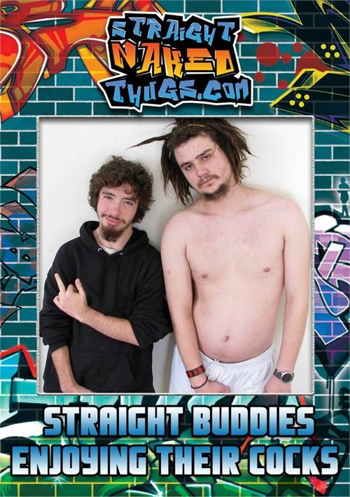 Straight Buddies Enjoying Their Cocks Boxcover
