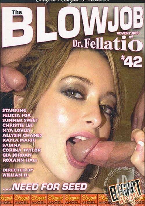 Blowjob Adventures of Dr. Fellatio #42, The Boxcover