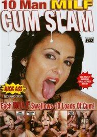 10 Man MILF Cum Slam Porn Video