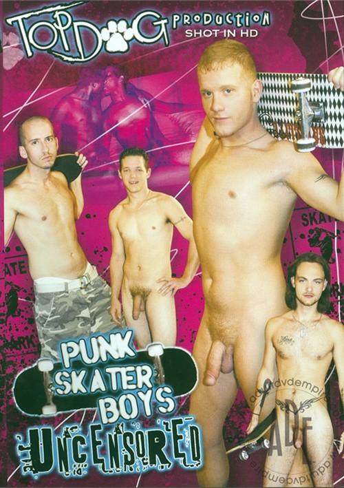 Punk Skater Boys Uncensored Boxcover