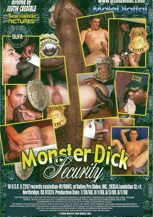 Monster dick security