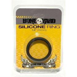 """Boneyard Silicone Ring - 1.8"""" (45 mm) - Black"""