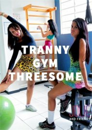 Tranny Gym Threesome Porn Video