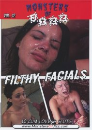 Monsters Of Jizz Vol. 42: Filthy Facials Porn Movie