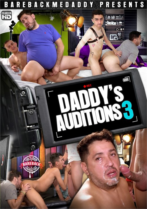 Daddy's Auditions 3 Boxcover