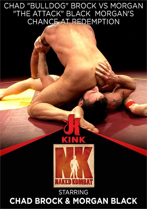 Chad Bulldog Brock vs Morgan The Attack Black  Morgan's Chance at Redemption Boxcover