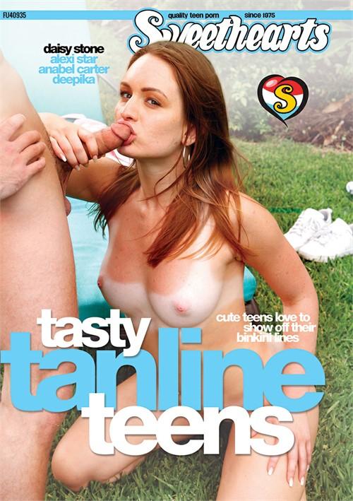 Tasty Tanline Teens