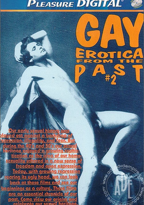 Gay Erotica From The Past 2 Boxcover