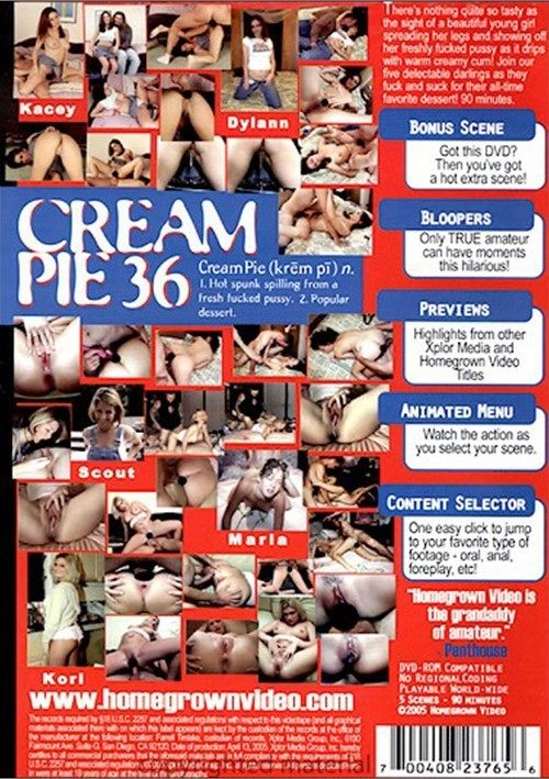 amateur cream kacey pie
