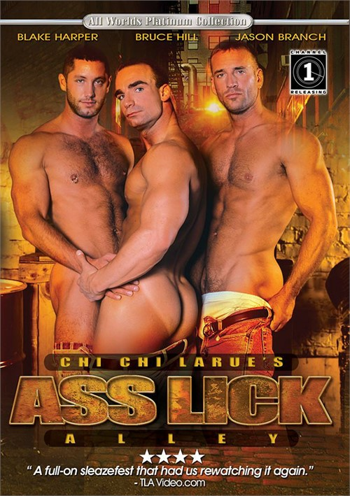 Ass Lick Alley Cover Front