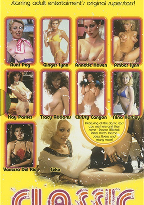 Classic Porn Players - 10 Dvd Box Set 2012  Adult Dvd Empire-1384