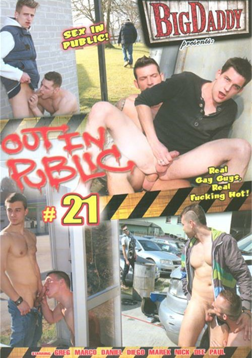 Free gay porn out in public