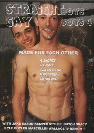 Straight Boys, Gay Boys 4: Made for Each Other Porn Movie