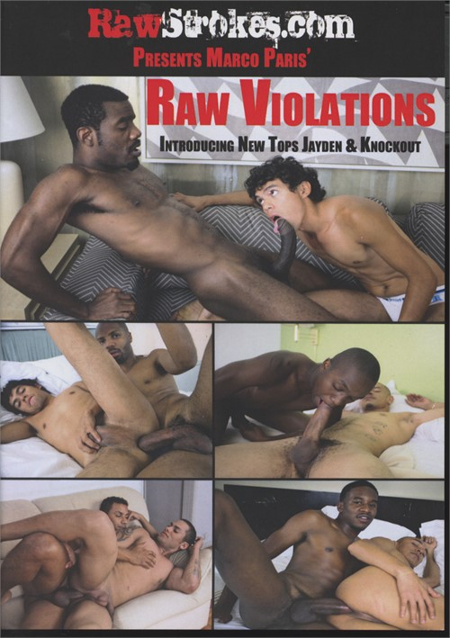 Raw Violations Boxcover
