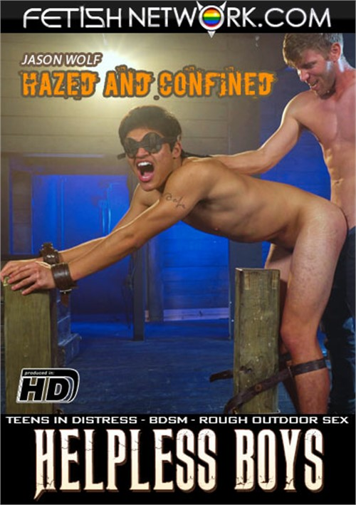 Helpless Boys: Jason Wolf Hazed and Confined Boxcover