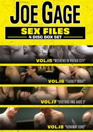 Joe Gage Sex Files Vol. 15, 16, 17 & 18 image