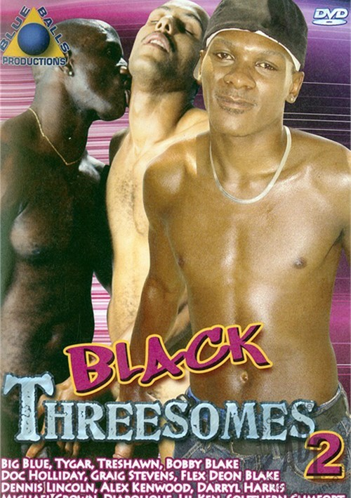 Black Threesomes 2 Boxcover