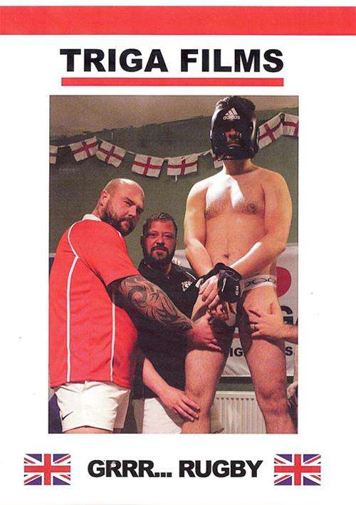 Grrr... Rugby Cover Front