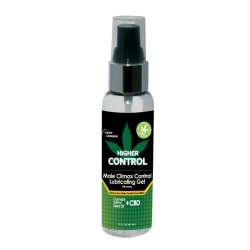Higher Control Male Climax Gel With Hemp - 2oz Sex Toy